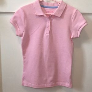 Nautical Girls Light Pink Polo Top Size XL (6X)
